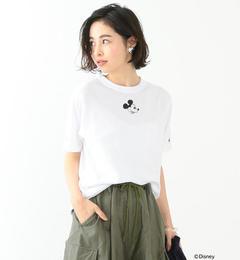 【ビームス ウィメン/BEAMS WOMEN】 Champion / 別注 ミッキーマウス Tシャツ Disney(ディズニー) [送料無料]