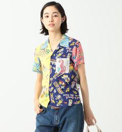 【ビームス ウィメン/BEAMS WOMEN】 SUN SURF × BEAMS BOY / ハワイアン クレイジー シャツ [送料無料]
