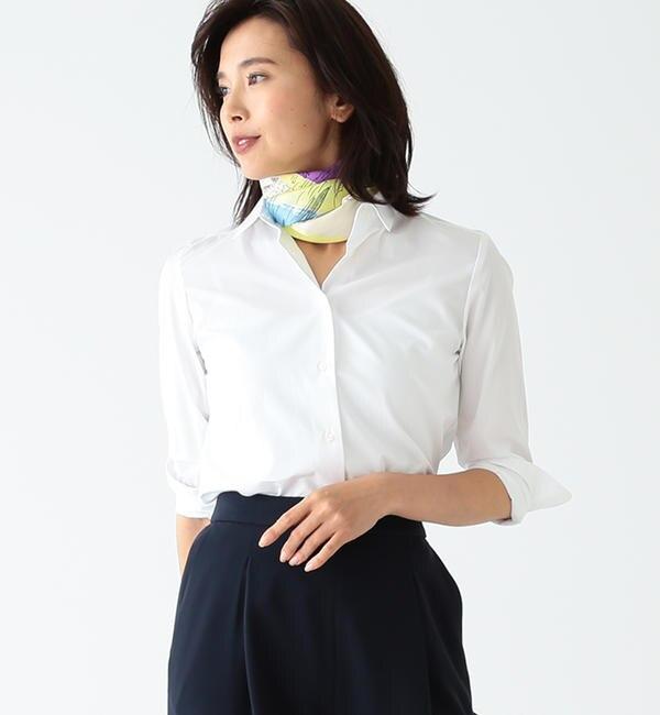 【ビームス ウィメン/BEAMS WOMEN】 Demi-Luxe BEAMS / レギュラーカラー シャツ's image
