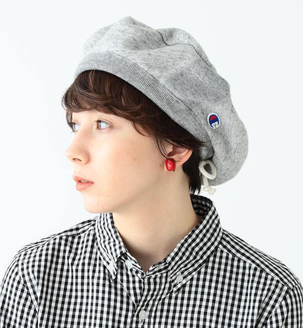 【ビームス ウィメン/BEAMS WOMEN】 Champion × BEAMS BOY / 別注 スウェット ベレー帽