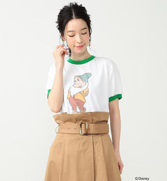 south for F / BASHFUL Tシャツ【ビームス ウィメン/BEAMS WOMEN レディス Tシャツ・カットソー WHITE/KG ルミネ LUMINE】