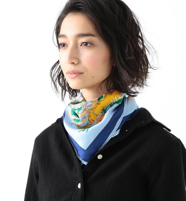 【ビームス ウィメン/BEAMS WOMEN】 【カタログ掲載】manipuri / SKI スカーフ's image