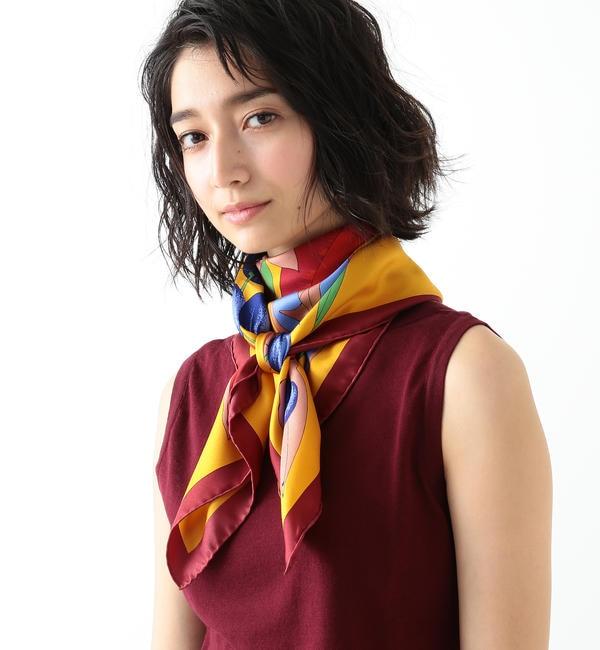 【ビームス ウィメン/BEAMS WOMEN】 manipuri / TROPICAL スカーフ's image