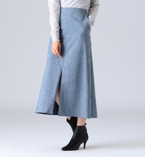 【ビームス ウィメン/BEAMS WOMEN】 Demi-Luxe BEAMS / エコスエードスカート