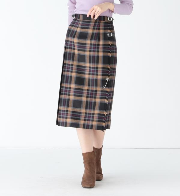 【ビームス ウィメン/BEAMS WOMEN】  O'NEIL OF DUBLIN / DALNESSIE キルトスカート