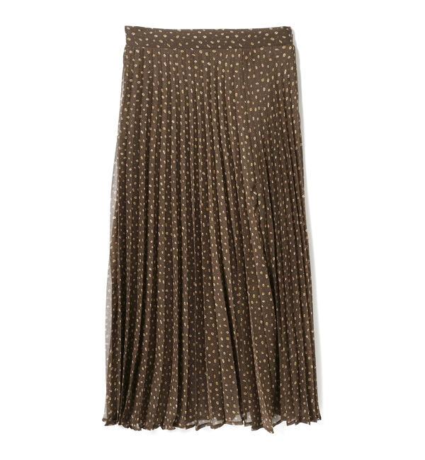 【ビームス ウィメン/BEAMS WOMEN】 A PUPIL / プリント プリーツスカート