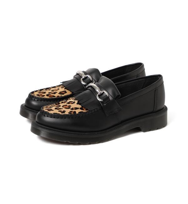 【ビームス ウィメン/BEAMS WOMEN】 Dr.Martens / CORE PRINT ADRIAN SNAFFLE LOAFER LEOPARD