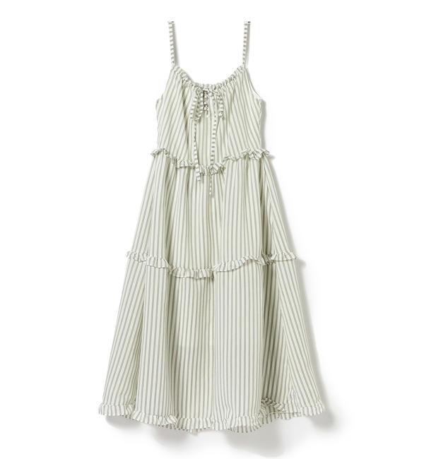 【ビームス ウィメン/BEAMS WOMEN】 GHOSPELL / Journey Tiered Midi Dress