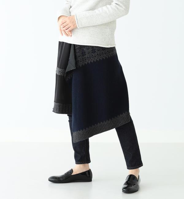 【ビームス ウィメン/BEAMS WOMEN】 A × BEAMS BOY / 別注 ノルディック スカート