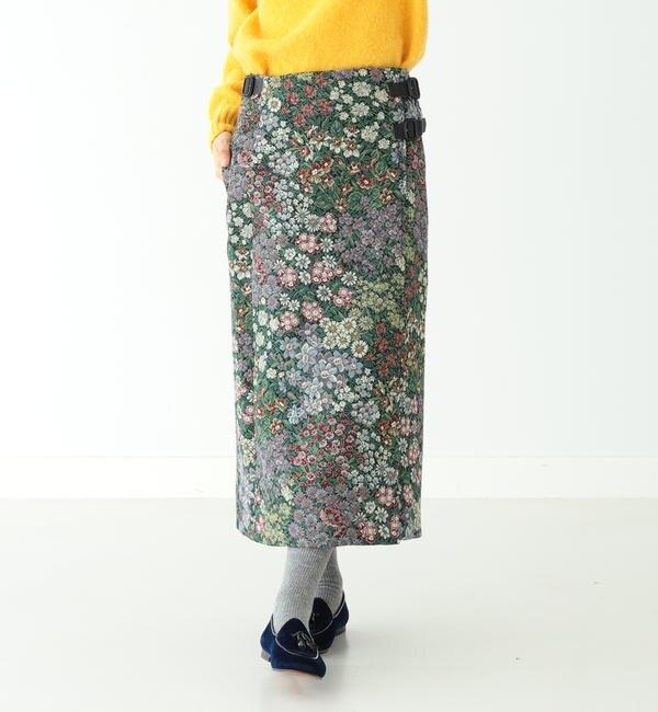 【ビームス ウィメン/BEAMS WOMEN】 BEAMS BOY / ゴブラン キルト スカート
