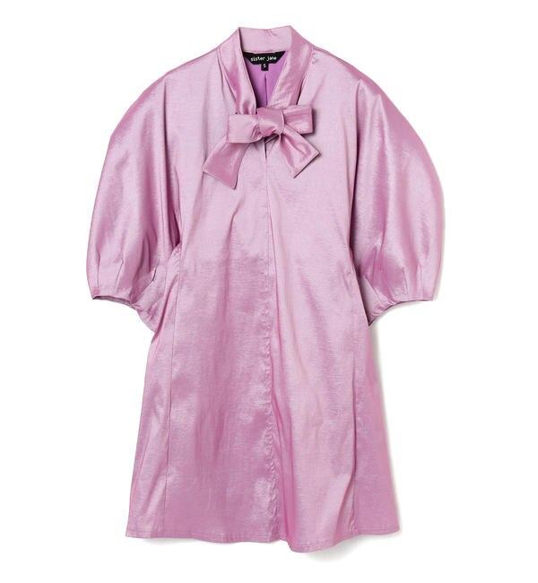 【ビームス ウィメン/BEAMS WOMEN】 sister jane / Finish Line Taffeta Mini Dress