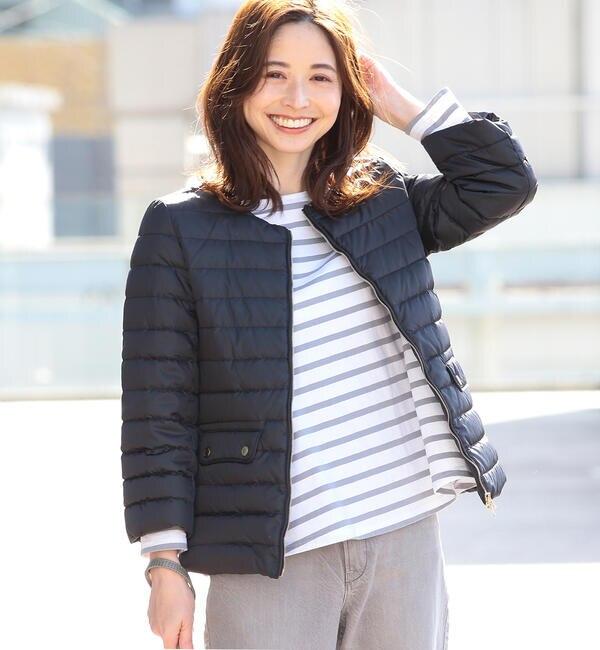 TATRAS / 別注 ACACIA ノーカラー ライトダウンジャケット