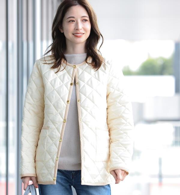 Traditional Weatherwear / 別注 ARKLEY キルティング ミドルコート