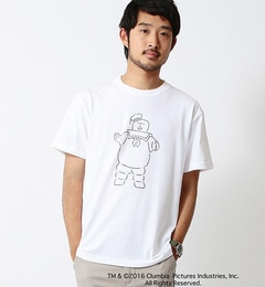 【ビームス メン/BEAMS MEN】 Yu Nagaba / ゴーストバスターズ マシュマロマン Tee [3000円(税込)以上で送料無料]