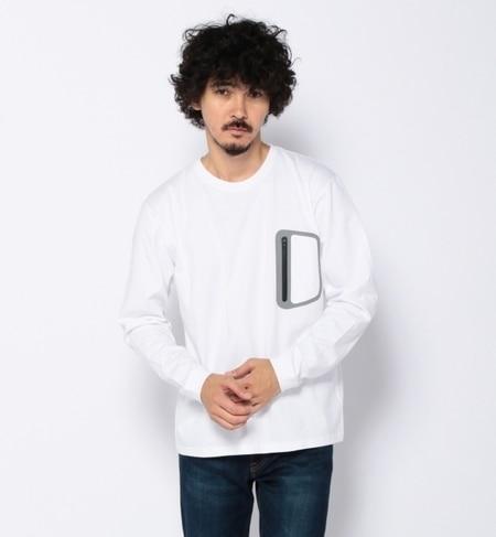 【ビームス メン/BEAMS MEN】 BERRY LEAGUE / ジップ ポケット ロングスリーブ Tシャツ [送料無料]