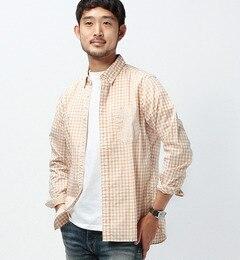 【ビームス メン/BEAMS MEN】 ギンガムチェック ボタンダウンシャツ [送料無料]