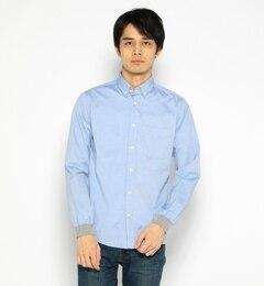 【ビームス メン/BEAMS MEN】 ピンオックス 裾リブ シャツ [送料無料]
