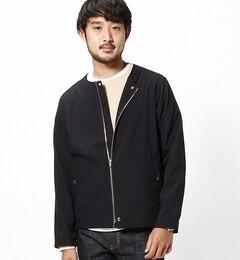 【ビームス メン/BEAMS MEN】 ノーカラー ライダース [送料無料]
