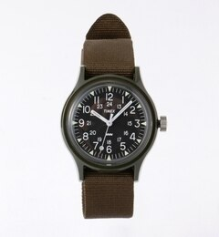 TIMEX / ORIGINAL CAMPER【ビームス メン/BEAMS MEN メンズ 腕時計 OLIVE/OD ルミネ LUMINE】