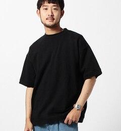 【ビームスメン/BEAMSMEN】ワイドクルーネックスウェットシャツ[送料無料]