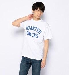 【ビームスメン/BEAMSMEN】QUARTERSNACKS×BEAMS/別注Tシャツ[送料無料]