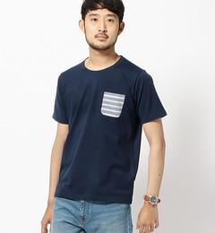 【ビームスメン/BEAMSMEN】ボーダーポケットTシャツ[送料無料]