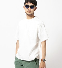 【ビームスメン/BEAMSMEN】ウーブンポケットTシャツ[送料無料]