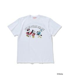 【ビームス メン/BEAMS MEN】 FUJI ROCK FESTIVAL'17 × BEAMS / Yusuke Hanai ミッキーマウス YEAH YEAH YEAH! Tee Shirts [送料無料]