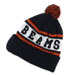【ビームス メン/BEAMS MEN】 BEAMS / BEAMS ロゴ ニットキャップ [3000円(税込)以上で送料無料]