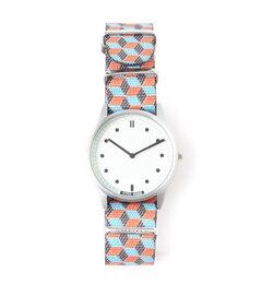 HYPER/G 01NATO【ビームス メン/BEAMS MEN メンズ 腕時計 (SV/WHT)Rubicon ルミネ LUMINE】