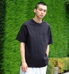 <アイルミネ> ビームス メン厳選 BEAMS / オックスフォード ウーブン ポケット Tシャツ [送料無料]画像