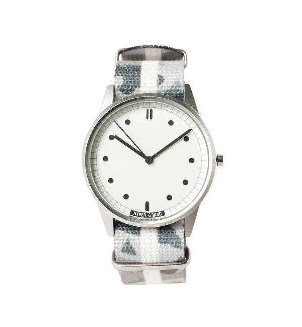 HYPERGRAND / 01 NATO Watch【ビームス メン/BEAMS MEN レディス, メンズ 腕時計 Frostbite ルミネ LUMINE】