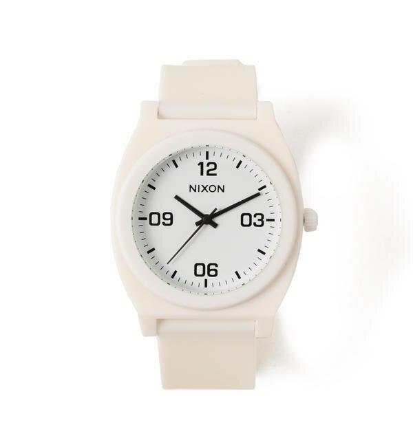NIXON / THE TIME TELLER P CORP【ビームス メン/BEAMS MEN レディス, メンズ 腕時計 WHITE ルミネ LUMINE】