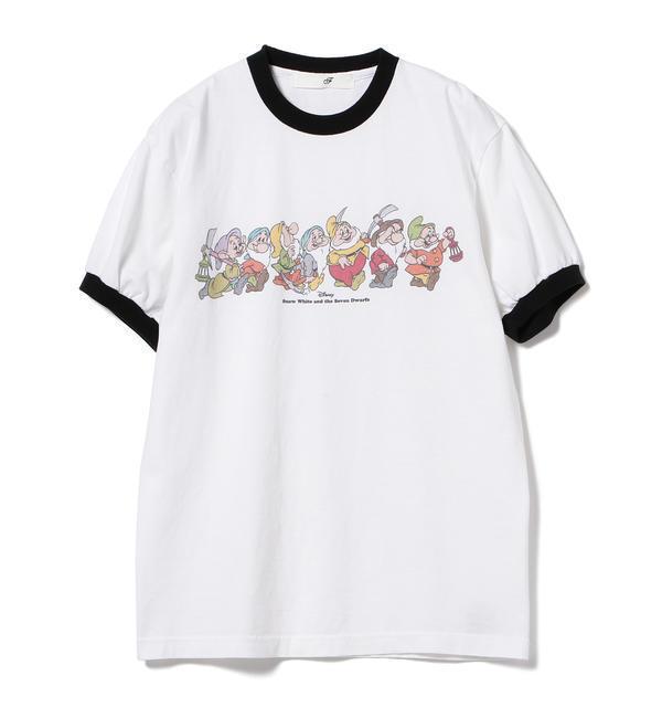 south for F × BEAMS / 別注 Seven Dwarfs T-shirt【ビームス メン/BEAMS MEN メンズ Tシャツ・カットソー NATURAL ルミネ LUMINE】