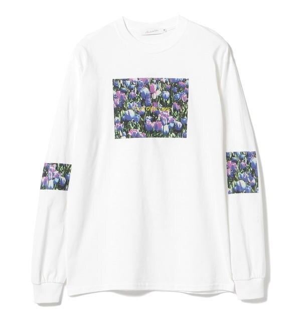 【ビームス メン/BEAMS MEN】 Available Today × BEAMS / 別注 プリント ロングスリーブ Tシャツ