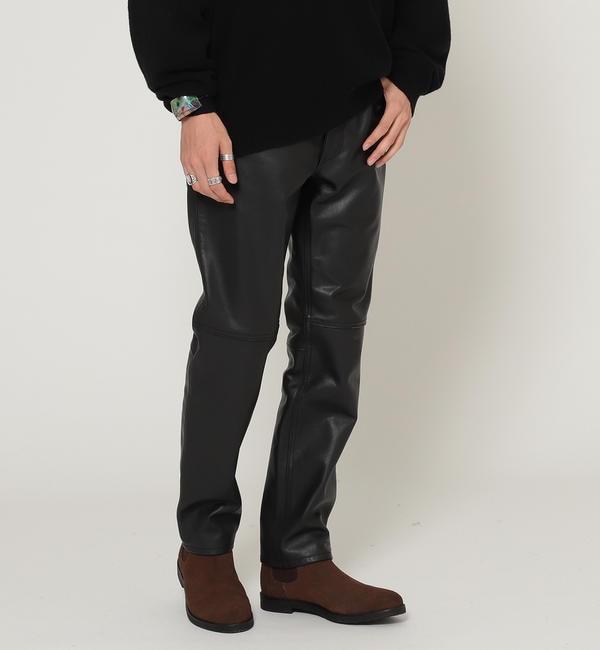 人気メンズファッション|【ビームス メン/BEAMS MEN】 BEAMS / レザー パンツ