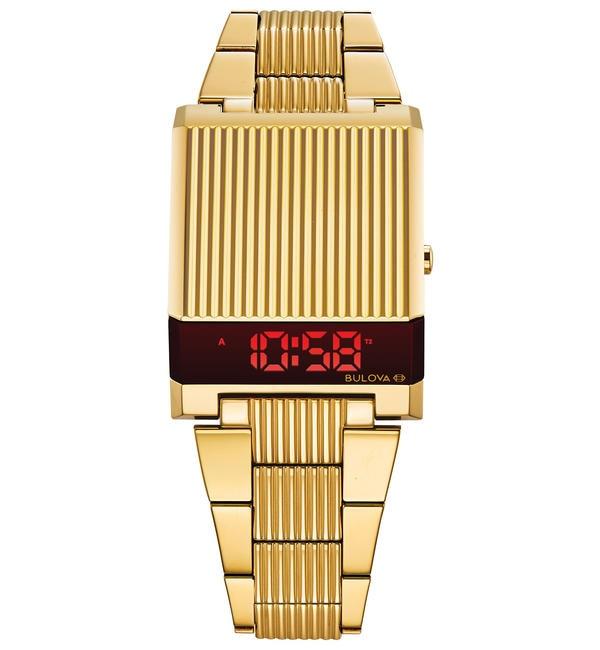 メンズファッションの一押し|【ビームス メン/BEAMS MEN】 BULOVA / Archive Series Computron 97C110 LEDデジタル ウォッチ(ゴールド)