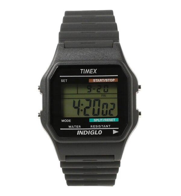 モテ系ファッションメンズ|【ビームス メン/BEAMS MEN】 TIMEX / Classics Digital デジタル ウォッチ
