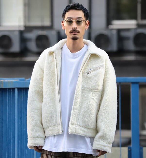 Lee × BEAMS / 別注 ボア ワークジャケット
