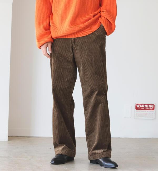 ファッションメンズお薦め|【ビームス メン/BEAMS MEN】 BEAMS / コーデュロイ ワイド パンツ