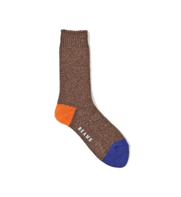 サンダル 靴下 秋冬の画像