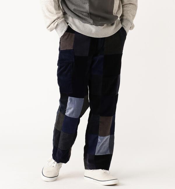 メンズファッションの一押し 【ビームス メン/BEAMS MEN】 TUBE × BEAMS PLUS / 別注 パッチワーク パンツ