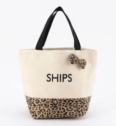 【シップス/SHIPS】バイカラーエコバッグS[3000円(税込)以上で送料無料]