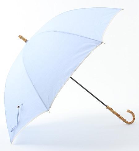 【シップス/SHIPS】 【MORE】掲載 シャンブレー 晴雨兼用傘 [送料無料]