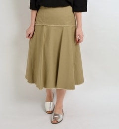 【シップス/SHIPS】 コットンマーメイドスカート [送料無料]