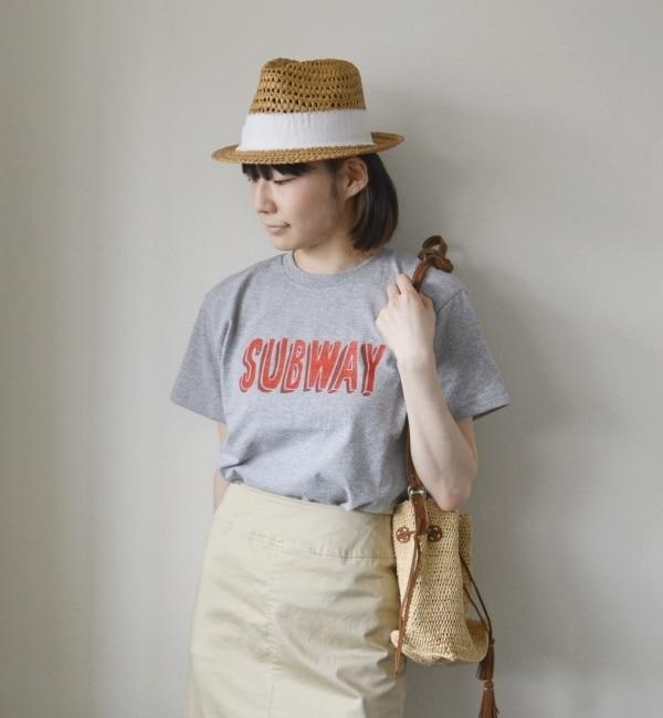 【シップス/SHIPS】 General mean T-SHIRT(ジェネラル ミーン Tシャツ):プリント グレー Tシャツ [送料無料]