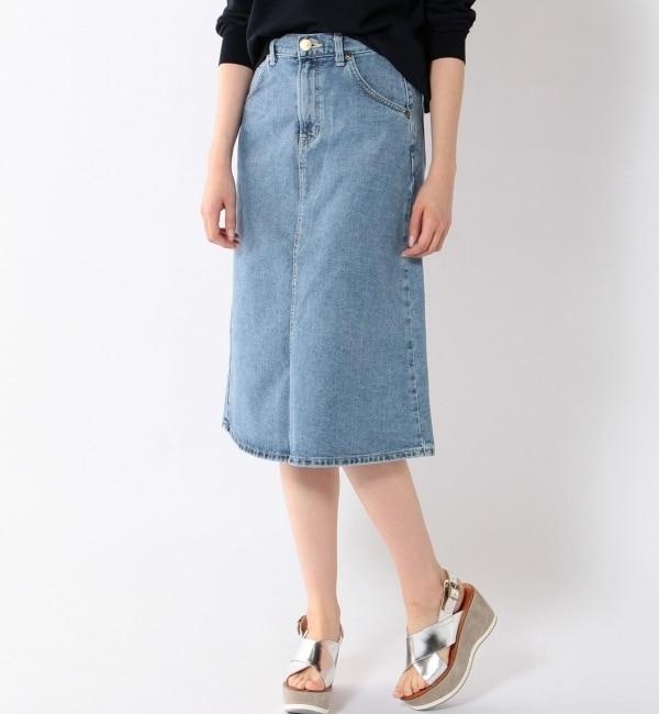 【シップス/SHIPS】 LEE:デニムスカート [送料無料]