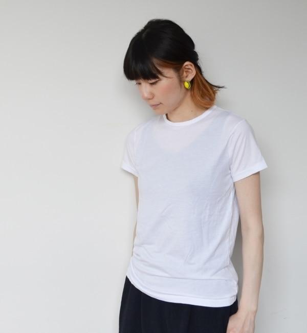 【シップス/SHIPS】 V ROOM(ヴィ ルーム):ベーシック ジャージーTシャツ [送料無料]