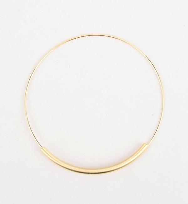 【シップス/SHIPS】 Khaju: ゴールドカラーラウンドネックレス [3000円(税込)以上で送料無料]