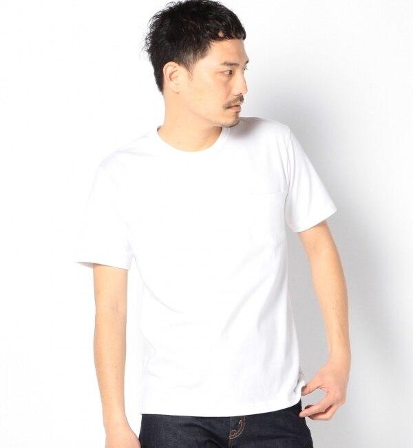 """【シップス/SHIPS】 SA: """"カナダ製"""" クルーネック ポケットTシャツ [送料無料]"""